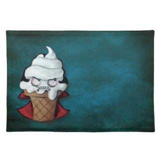 Sweet Cute Vampire Ice Cream Place Mat
