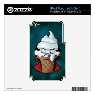 Sweet Cute Vampire Ice Cream Skin For iPod Touch 4G