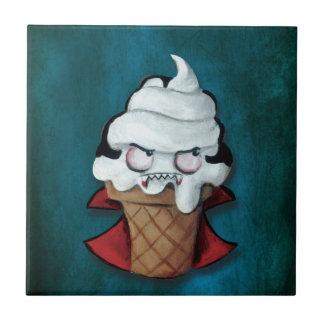 Sweet Cute Vampire Ice Cream Tile