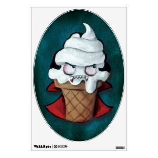 Sweet Cute Vampire Ice Cream Wall Sticker