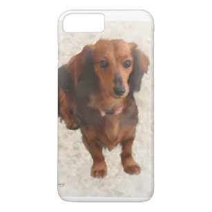 low priced 46d43 aff6f Loves Dachshunds iPhone 8 Plus/7 Plus Cases | Zazzle