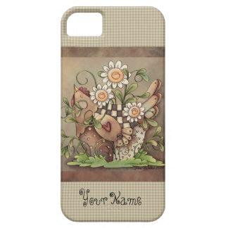 Sweet Daisy Hen iPhone 5/5S iPhone 5 Case