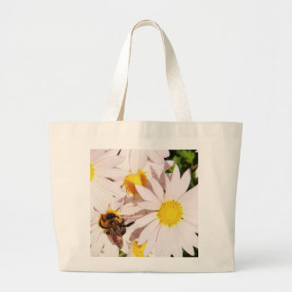 Sweet Daisy Large Tote Bag
