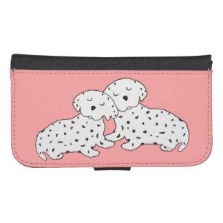 Sweet Dalmatian Dreams Phone Wallet Cases