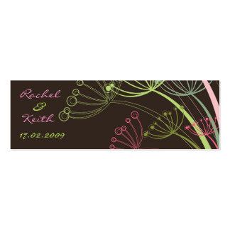 Sweet Dandelions Gift Tag / Profile Card Mini Business Card