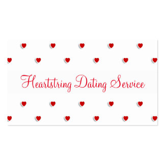 Sweet Dating Service Business Card