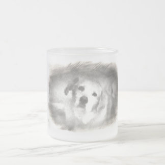 Sweet Dave 10 Oz Frosted Glass Coffee Mug