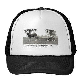 Sweet days of Summer Pony and Wagon Trucker Hat