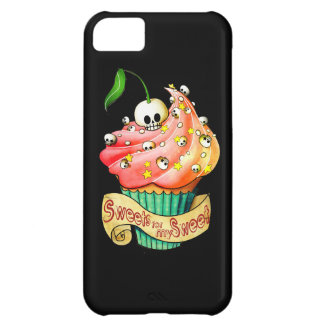 Sweet & Deadly Skull Cupcake Cover For iPhone 5C