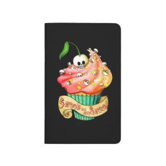 Sweet & Deadly  Skull Cupcake Journals