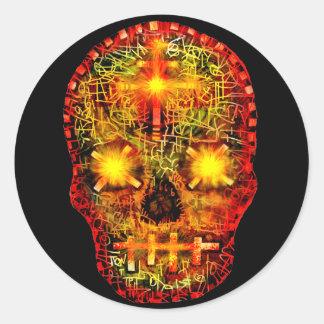 Sweet Death Round Sticker