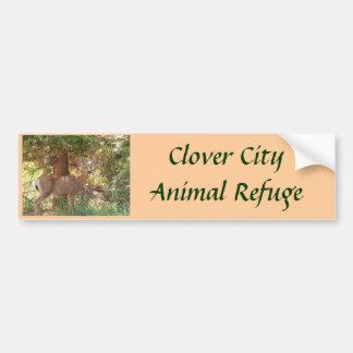 Sweet Deer Animal Refuge Bumper Sticker