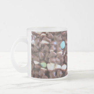 Sweet Delight Frosted Glass Coffee Mug