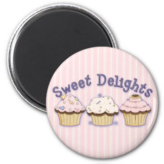 Sweet Delights CupCakes Magnet