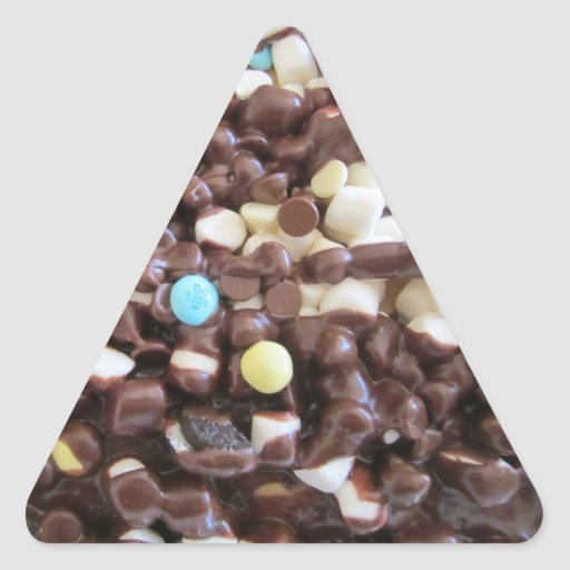 Sweet Delights Triangle Sticker