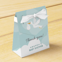 Sweet Delivery Stork Baby Shower Favor Box