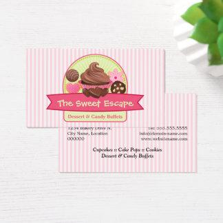 Sweet Desserts Bakery Business Card