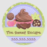 Sweet Desserts Bakery Stickers