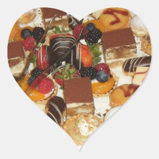 Sweet Desserts Heart Sticker