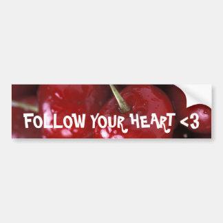 Sweet Destiny Fruit Salad Cherries Bumper Sticker