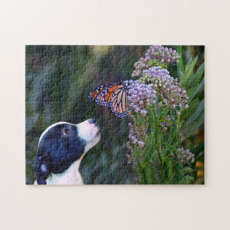 Sweet Dog and Butterfly Puzzle