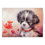 Sweet Dog Art Card