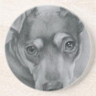 Sweet dog coaster