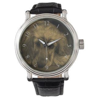 Sweet Dog - Golden Retriever in Sepia Tones Wrist Watch