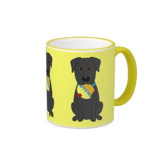 Sweet Dog Ringer Coffee Mug