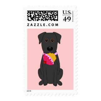 Sweet Dog Pink Postage