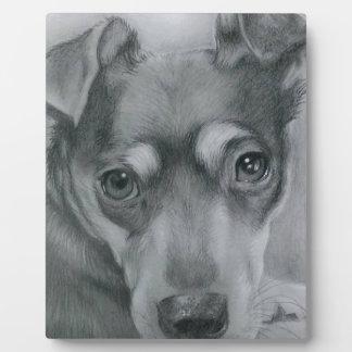 Sweet dog plaque