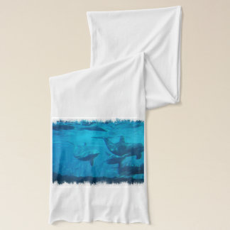 Sweet Dolphin Scarf