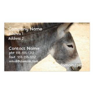 Sweet Donkey Business Card Templates