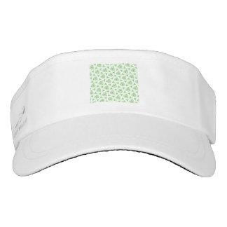 sweet doodle pattern green (I) Headsweats Visor