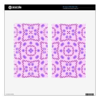Sweet Doodle Pattern,pink (I) Kindle Fire Skins