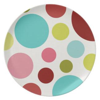 Sweet Dots Melamine Plate