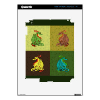 Sweet Dragon Collection Skins For iPad 3
