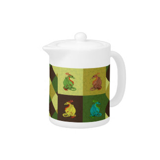 Sweet Dragon Collection Teapot