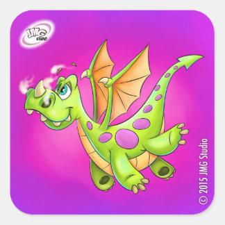 Sweet dragon sticker