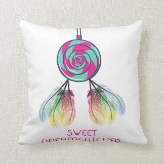 Sweet Dream Catcher Throw Pillow