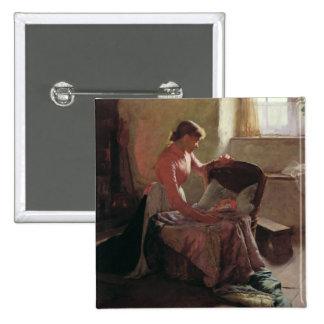 Sweet Dreams, 1892 Pinback Button