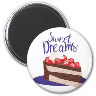 Sweet Dreams 2 Inch Round Magnet