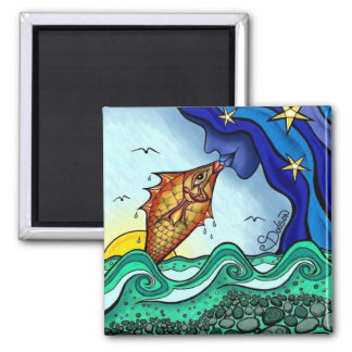 Sweet Dreams 2 Inch Square Magnet
