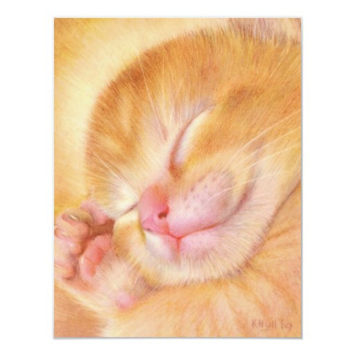Sweet Dreams 4.25x5.5 Paper Invitation Card