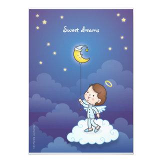 "Sweet dreams 5"" x 7"" invitation card"