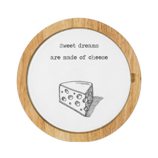 Sweet Dreams Are Made Of Cheese Cheese Tray