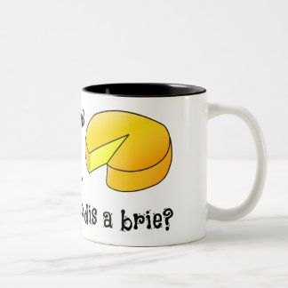 Sweet Dreams are Made of Cheese Two-Tone Coffee Mug