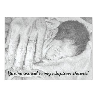 Sweet Dreams Baby, Adoption Shower Invitation