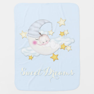 Sweet Dreams Baby Boy Baby Blanket