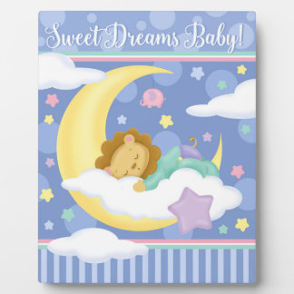 Sweet Dreams Baby Easel Plaque